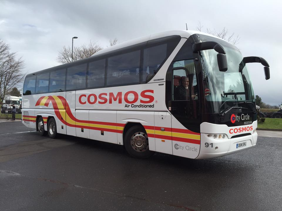 Cosmos coach graphics