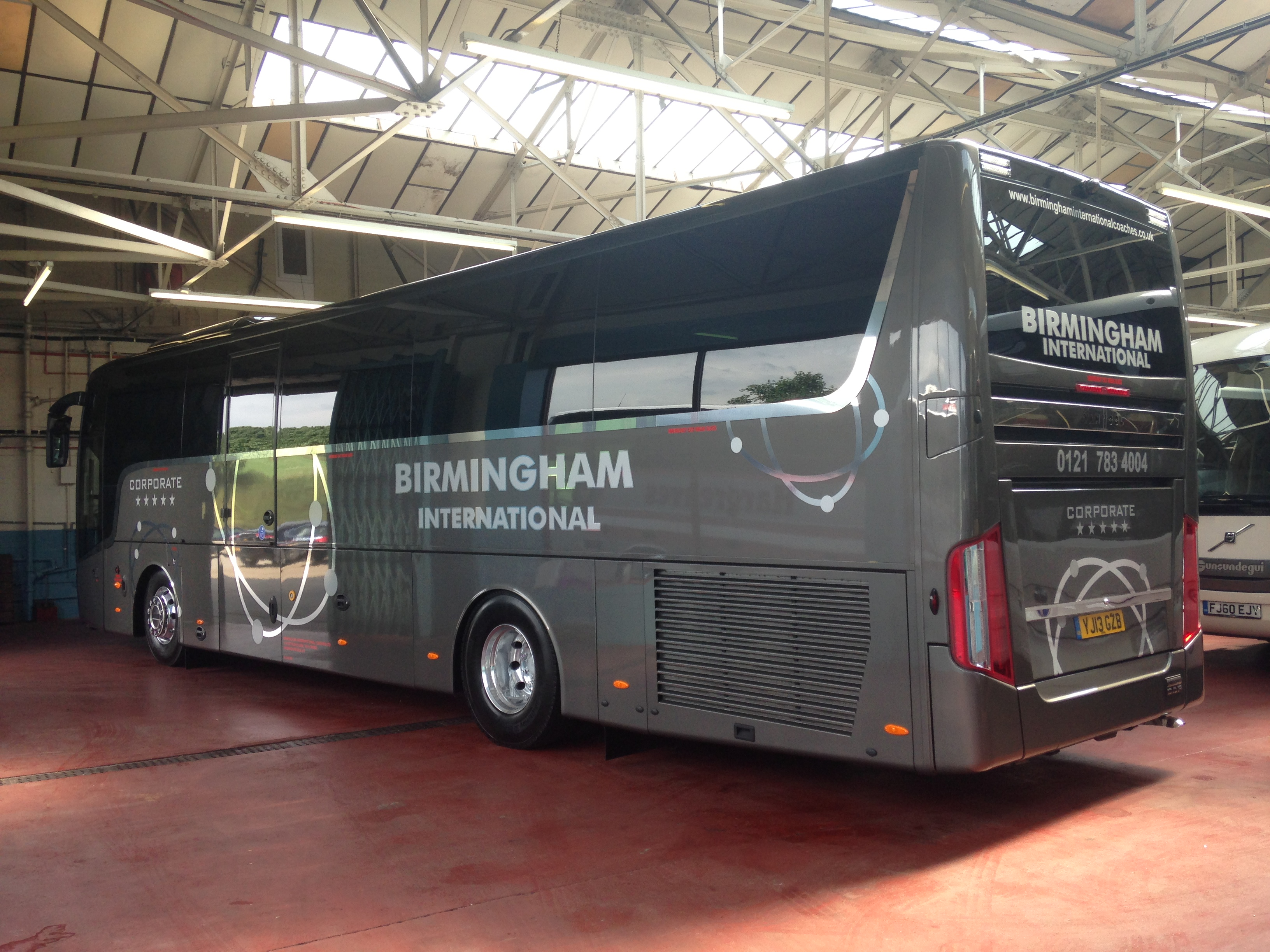 Birmingham Chrome coach graphics